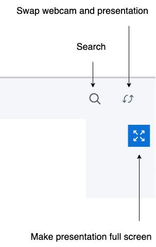 WebMeeting navigace